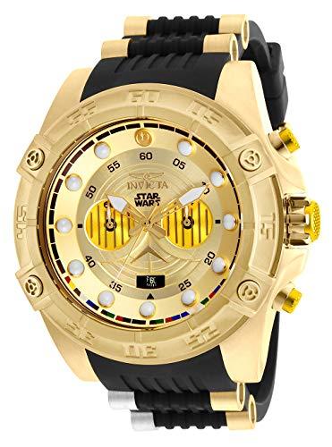 インヴィクタ インビクタ 腕時計 メンズ 【送料無料】Invicta Men's Star Wars Stainless Steel Quartz Watch with Silicone Strap, Black, 26 (Model: 26067)インヴィクタ インビクタ 腕時計 メンズ