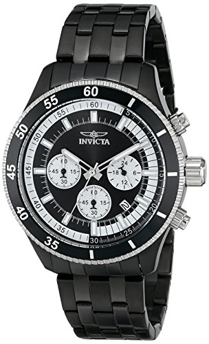 インヴィクタ インビクタ 腕時計 メンズ 【送料無料】Invicta Men's 17737 Specialty Analog Display Japanese Quartz Black Watchインヴィクタ インビクタ 腕時計 メンズ