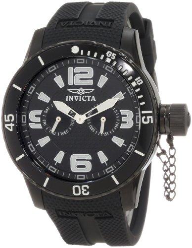 インヴィクタ インビクタ 腕時計 メンズ 【送料無料】Invicta Men's 1794 Specialty Black Textured Dial Black Silicone Strap Watchインヴィクタ インビクタ 腕時計 メンズ