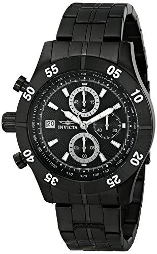 インヴィクタ インビクタ 腕時計 メンズ Invicta Men's 11279 Specialty Chronograph Black Textured Dial Black Ion-Plated Stainless Steel Watchインヴィクタ インビクタ 腕時計 メンズ