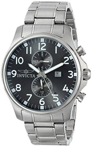 インヴィクタ インビクタ 腕時計 メンズ 【送料無料】Invicta Men's 17073 Specialty Analog Display Swiss Quartz Silver Watchインヴィクタ インビクタ 腕時計 メンズ