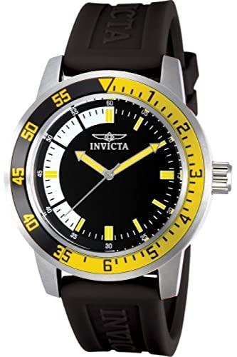 インヴィクタ インビクタ 腕時計 メンズ INVICTA Specialty Men 45mm Stainless Steel Stainless Steel Black+White dial PC21 Quartzインヴィクタ インビクタ 腕時計 メンズ