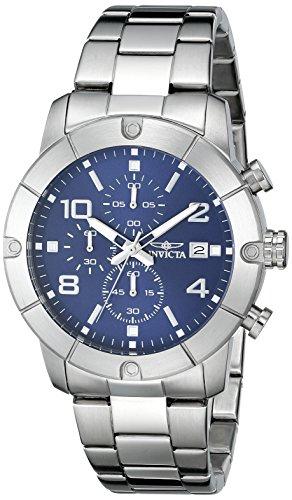 インヴィクタ インビクタ 腕時計 メンズ Invicta Men's 17763 Specialty Analog Display Japanese Quartz Silver Watchインヴィクタ インビクタ 腕時計 メンズ