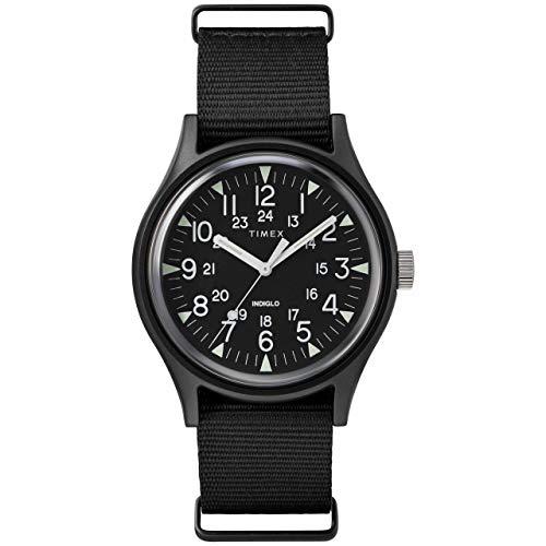 腕時計 タイメックス メンズ 【送料無料】Timex MK1 Aluminum 3-Hand Black/Black One Size腕時計 タイメックス メンズ