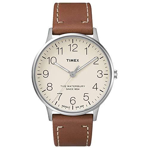 タイメックス 腕時計 メンズ Timex Men's Waterbury Classic 40 Brown/Black One Sizeタイメックス 腕時計 メンズ