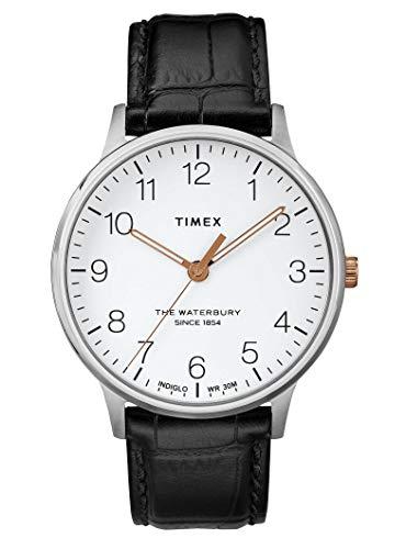 タイメックス 腕時計 メンズ Timex Waterbury Classic White Dial Leather Strap Men's Watch TW2R71300タイメックス 腕時計 メンズ