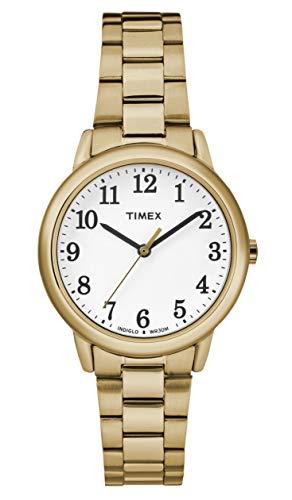 腕時計 タイメックス レディース 【送料無料】Timex Women's Easy Reader White Dial with a Stainless Steel Bracelet Watch TW2R23800腕時計 タイメックス レディース