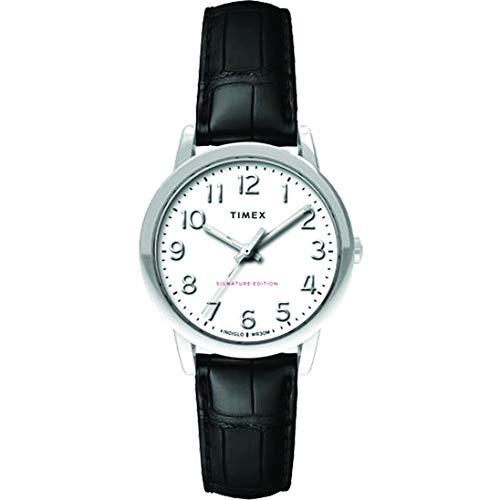 タイメックス 腕時計 レディース 【送料無料】Timex Womens Analogue Classic Quartz Watch with Leather Strap TW2R65300タイメックス 腕時計 レディース