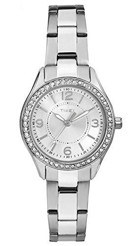 タイメックス 腕時計 レディース Timex TW2P79800 Ladies Chesapeake Silver Steel Bracelet Watchタイメックス 腕時計 レディース