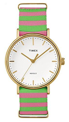 タイメックス 腕時計 レディース TIMEX Multicolour Nylon Watch-TW2P91800タイメックス 腕時計 レディース
