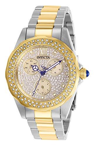 インヴィクタ インビクタ 腕時計 レディース Invicta Women's Angel Quartz Watch with Stainless Steel Strap, Two Tone, 18 (Model: 28433)インヴィクタ インビクタ 腕時計 レディース