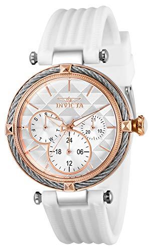 インヴィクタ インビクタ 腕時計 レディース Invicta Women's Bolt Stainless Steel Quartz Polyurethane Strap, White, 18 Casual Watch (Model: 28972)インヴィクタ インビクタ 腕時計 レディース
