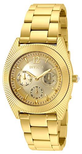 インヴィクタ インビクタ 腕時計 レディース Invicta Women's Angel Quartz Watch with Stainless Steel Strap, Gold, 21 (Model: 25248)インヴィクタ インビクタ 腕時計 レディース
