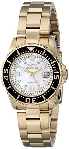 インヴィクタ インビクタ 腕時計 レディース Invicta Women's 17596 Pro Diver Analog Display Swiss Quartz Gold Watchインヴィクタ インビクタ 腕時計 レディース