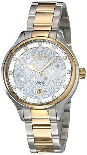 インヴィクタ インビクタ 腕時計 レディース Invicta Women's Angel Quartz Watch with Stainless Steel Strap, Two Tone, 16 (Model: 27436)インヴィクタ インビクタ 腕時計 レディース