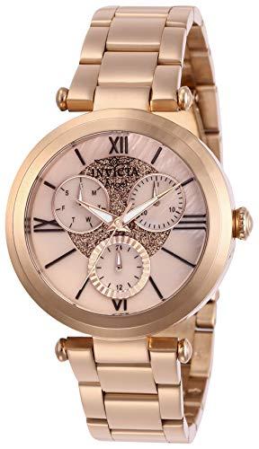 インヴィクタ インビクタ 腕時計 レディース 【送料無料】Invicta Women's Angel Quartz Watch with Stainless Steel Strap, Rose Gold, 18 (Model: 28928)インヴィクタ インビクタ 腕時計 レディース
