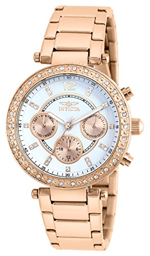 インヴィクタ インビクタ 腕時計 レディース Invicta Women's Quartz Watch with Silver Dial Chronograph Display and Silver Stainless Steel Bracelet 21558インヴィクタ インビクタ 腕時計 レディース