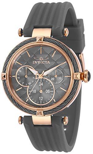 インヴィクタ インビクタ 腕時計 レディース 【送料無料】Invicta Women's Bolt Stainless Steel Quartz Polyurethane Strap, Grey, 18 Casual Watch (Model: 28970)インヴィクタ インビクタ 腕時計 レディース