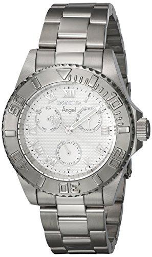 インヴィクタ インビクタ 腕時計 レディース Invicta Women's Angel Quartz Watch with Stainless-Steel Strap, Silver, 20 (Model: 17523)インヴィクタ インビクタ 腕時計 レディース