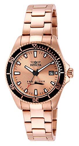 インヴィクタ インビクタ 腕時計 レディース Invicta 15137 Women's Invicta Pro Diver Rose Gold Tone Dial 18K Rose Gold Plated Stainless Steel Watchインヴィクタ インビクタ 腕時計 レディース
