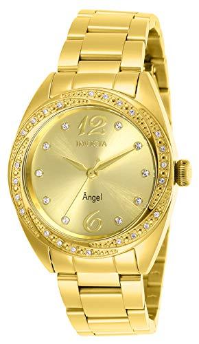 インヴィクタ インビクタ 腕時計 レディース Invicta Women's Angel Quartz Watch with Stainless Steel Strap, Gold, 18 (Model: 27457)インヴィクタ インビクタ 腕時計 レディース