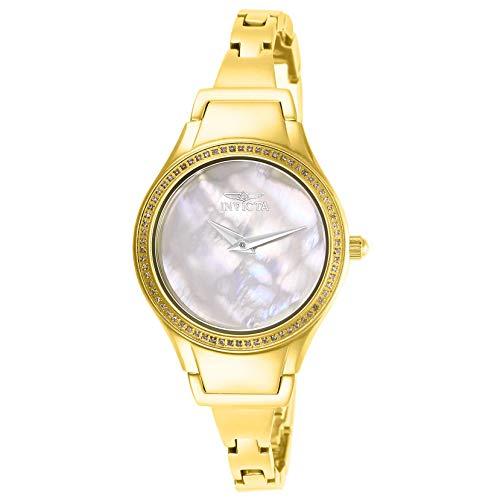 インヴィクタ インビクタ 腕時計 レディース Invicta Angel Crystal White Mother of Pearl Dial Ladies Watch 28505インヴィクタ インビクタ 腕時計 レディース