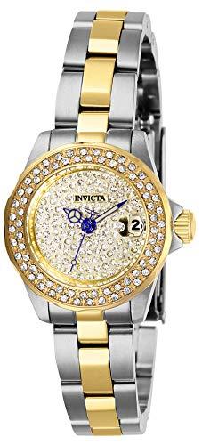 インヴィクタ インビクタ 腕時計 レディース 【送料無料】Invicta Women's Angel Quartz Watch with Stainless Steel Strap, Two Tone, 12 (Model: 28455)インヴィクタ インビクタ 腕時計 レディース