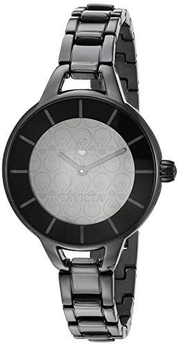 インヴィクタ インビクタ 腕時計 レディース 【送料無料】Invicta Women's Gabrielle Union Quartz Watch with Stainless-Steel Strap, Black, 6 (Model: 22915)インヴィクタ インビクタ 腕時計 レディース