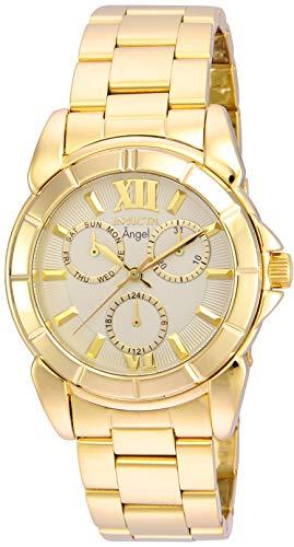 インヴィクタ インビクタ 腕時計 レディース Invicta Women's 21700 Angel Quartz Chronograph Gold Dial Watchインヴィクタ インビクタ 腕時計 レディース