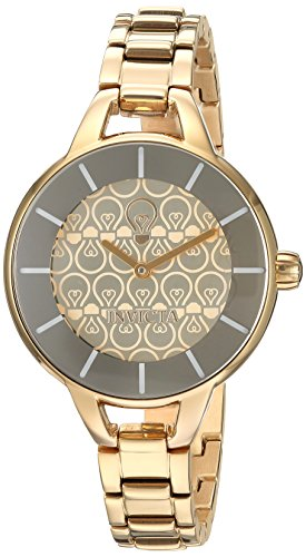 インヴィクタ インビクタ 腕時計 レディース 【送料無料】Invicta Women's Gabrielle Union Quartz Watch with Stainless-Steel Strap, Gold, 12 (Model: 22912)インヴィクタ インビクタ 腕時計 レディース