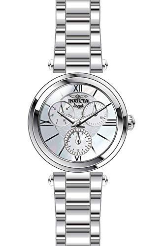 インヴィクタ インビクタ 腕時計 レディース 【送料無料】Invicta Women's Angel Quartz Stainless-Steel Strap, Silver, 18 Casual Watch (Model: 28924)インヴィクタ インビクタ 腕時計 レディース