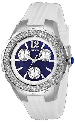インヴィクタ インビクタ 腕時計 レディース 【送料無料】Invicta Women's Angel Stainless Steel Quartz Watch with Silicone Strap, White, 22 (Model: 29085)インヴィクタ インビクタ 腕時計 レディース