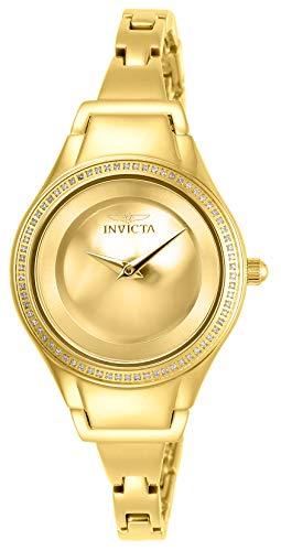 インヴィクタ インビクタ 腕時計 レディース Invicta Women's Angel Quartz Watch with Stainless-Steel Strap, Gold, 15 (Model: 26766)インヴィクタ インビクタ 腕時計 レディース