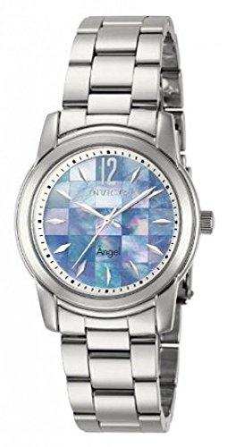 インヴィクタ インビクタ 腕時計 レディース 【送料無料】Invicta Womens Angel Mosaic Mother-of-Pearl Dial Stainless Steel Bracelet Watch 12628インヴィクタ インビクタ 腕時計 レディース