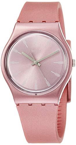 Shop Angelica Swatch Watch Lady S Swatch Pastelbaya Gp154 Pink