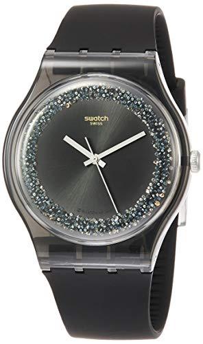スウォッチ 腕時計 レディース Swatch Mens Analogue Quartz Watch with Silicone Strap SUOB156スウォッチ 腕時計 レディース