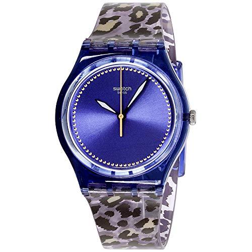 スウォッチ 腕時計 レディース Swatch Originals Wildchic Purple Dial Plastic Strap Unisex Watch GV130スウォッチ 腕時計 レディース