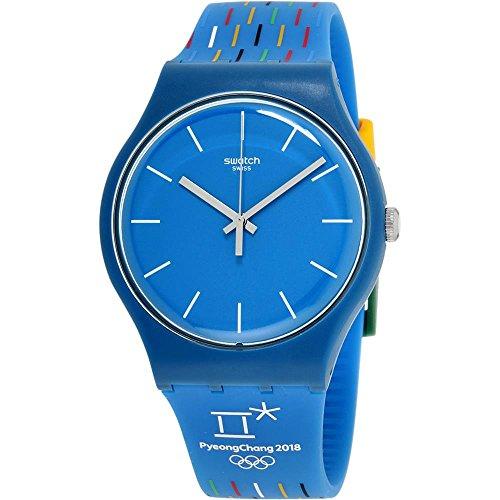 スウォッチ 腕時計 レディース Swatch Unisex Adult Analogue Quartz Watch with Silicone Strap SUOZ277スウォッチ 腕時計 レディース