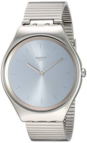 スウォッチ 腕時計 レディース 【送料無料】Swatch 1805 Skin Irony Quartz Stainless Steel Strap, Grey, 17 Casual Watch (Model: SYXS103GG)スウォッチ 腕時計 レディース