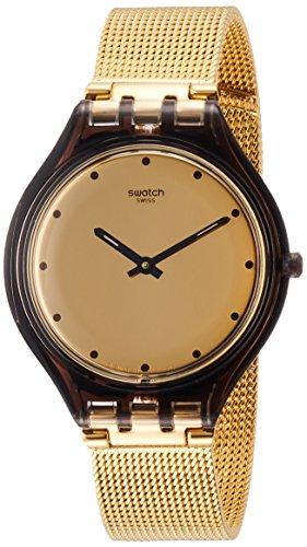 スウォッチ 腕時計 レディース 【送料無料】Swatch Women's Analogue Quartz Watch with Stainless Steel Strap SVOC100Mスウォッチ 腕時計 レディース
