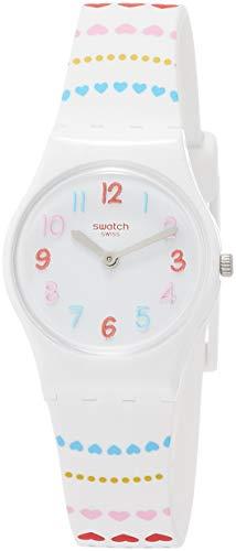 スウォッチ 腕時計 レディース Swatch Womens Analogue Quartz Watch with Silicone Strap LW164スウォッチ 腕時計 レディース
