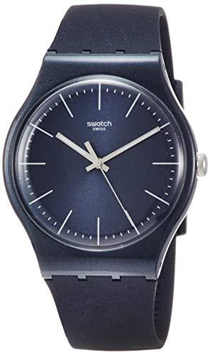 腕時計 スウォッチ メンズ 夏の腕時計特集 【送料無料】Swatch Naitbayang SUON136 Blue Silicone Quartz Fashion Watch腕時計 スウォッチ メンズ 夏の腕時計特集