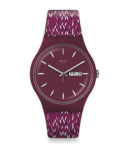 腕時計 スウォッチ メンズ 夏の腕時計特集 【送料無料】Swatch Trico'Purp Purple Dial Men's Watch SUOV705腕時計 スウォッチ メンズ 夏の腕時計特集