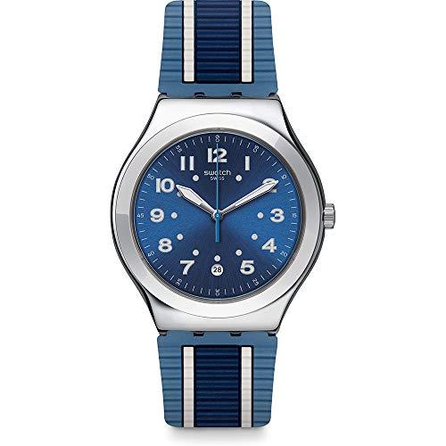 スウォッチ 腕時計 メンズ Swatch Bluora Blue Dial Mens Watch YWS436スウォッチ 腕時計 メンズ