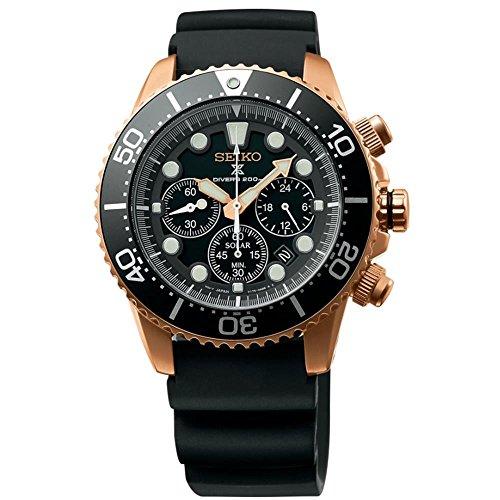 セイコー 腕時計 メンズ Seiko prospex Mens Analog Automatic Watch with Silicone Bracelet SSC618P1セイコー 腕時計 メンズ