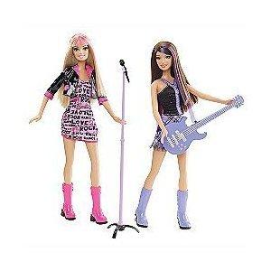 バービー バービー人形 日本未発売 Barbie I Can Be a Rock Star Two Pack Set with Guitar and Microphoneバービー バービー人形 日本未発売