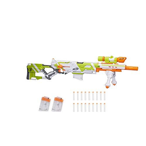 ナーフ エヌストライク アメリカ 直輸入 エリート Longstrike Nerf Modulus Toy Blaster with Barrel Extension, Bipod, Scopes, 18 Modulus Elite Darts & 3 Six-Dart Clips (Amazon Exclusive)ナーフ エヌストライク アメリカ 直輸入 エリート