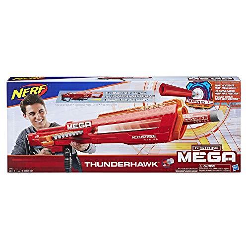 ナーフ メガ エヌストライクエリート アメリカ 直輸入 Nerf E0440EU4 N-Strike Mega AccuStrike Series Thunderhawk, Multi-Colourナーフ メガ エヌストライクエリート アメリカ 直輸入
