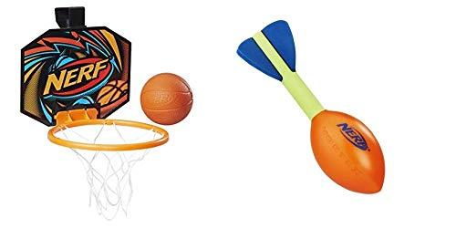 ナーフスポーツ アメリカ 直輸入 ナーフ スポーツ Nerf Sports Mini 1 Each Nerfoop Jump Shot & Pocket Aero Flyer Bundleナーフスポーツ アメリカ 直輸入 ナーフ スポーツ