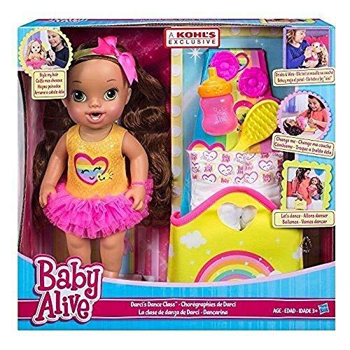 ベビーアライブ 赤ちゃん おままごと ベビー人形 【送料無料】Baby Alive Darci's Dance Class Baby Dollベビーアライブ 赤ちゃん おままごと ベビー人形